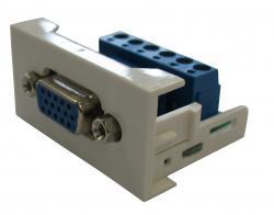 Plokštelė su VGA lizdu REHAU-VGA