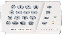 LED klaviatūra K636