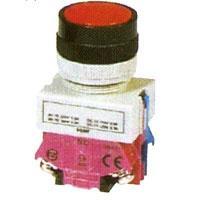 Mygtukas NC P01-RAUDONAS