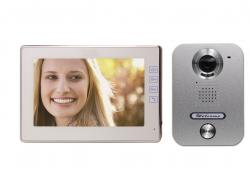 """7"""" monitorius su kamera, dvilaidė sistema LMR560C2+PL270"""
