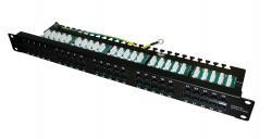 50 portų telefoninė panelė ECISA50-K1/BK