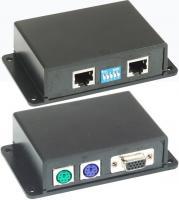 VGA, klaviatūros ir pelytės nutolinimo keitiklis VKM01