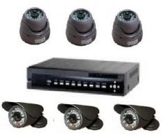 Vaizdo stebėjimo sistemos komplektas