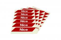 Šviesą atspindintys Nice lipdukai WA10